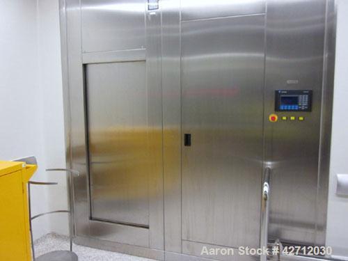 Used- Steris Finn Aqua Pass Thru Steam Sterilizer, Model 61515-D-B-GMP-ABS5.316L Stainless steel chamber and jacket, 1.56 c...