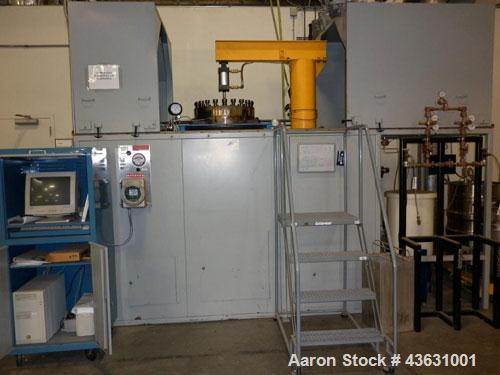 "Used-Fluitron Autoclave, 45 gallons.  Includes surrounding platform / scaffold and controls.  Rated 1000 psig, 330C.  ASME ""..."