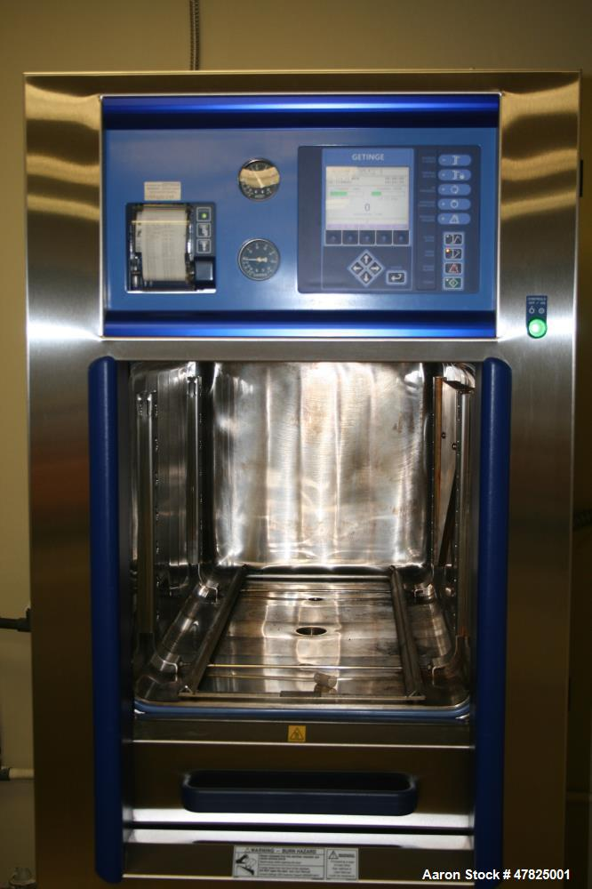Used- Getinge Autoclave; Model 533LS. Chamber height: 21.0 in. (533mm), chamber width: 21.0 in. (533mm), chamber depth: 38.0...