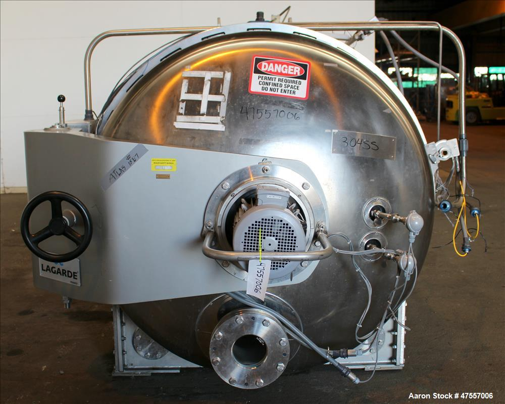 Used- J. Lagarde Steam and Air Rotary Retort Processing Sterilizer