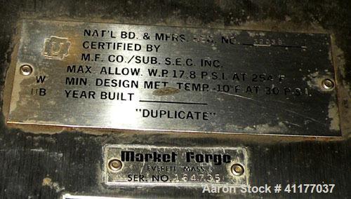 "Used- Market Forge Sterilmatic Sterilizer, Model STM-E. 16"" diameter x 26"" deep aluminum 3 cubic feet horizontal chamber rat..."