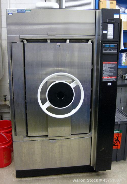 "Used- Steris Amsco Eagle Vacamatic Sterilizer, Model E3033-S-1. Chamber approximately 24"" x 36"" x 36"". Stage 3 controls. Inc..."