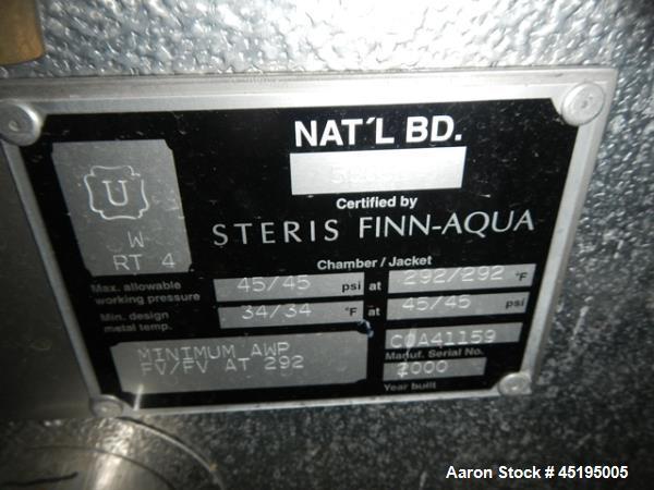Used- Stainless Steel Steris Finn Aqua Sterilizer