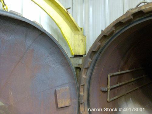 "Unused-Used: Autoclave manufactured by Irwin Steel Fabricators. ID is 78"",carbon steel  shell length is 20'. Pressure rating..."