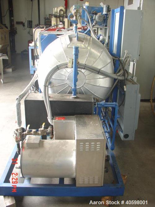 """Used-Steam Autoclave, 30"""" ID x 48"""" long, 50 psi, Carbon Steel construction, quick opening door with hydraulic assist, vacuum..."""