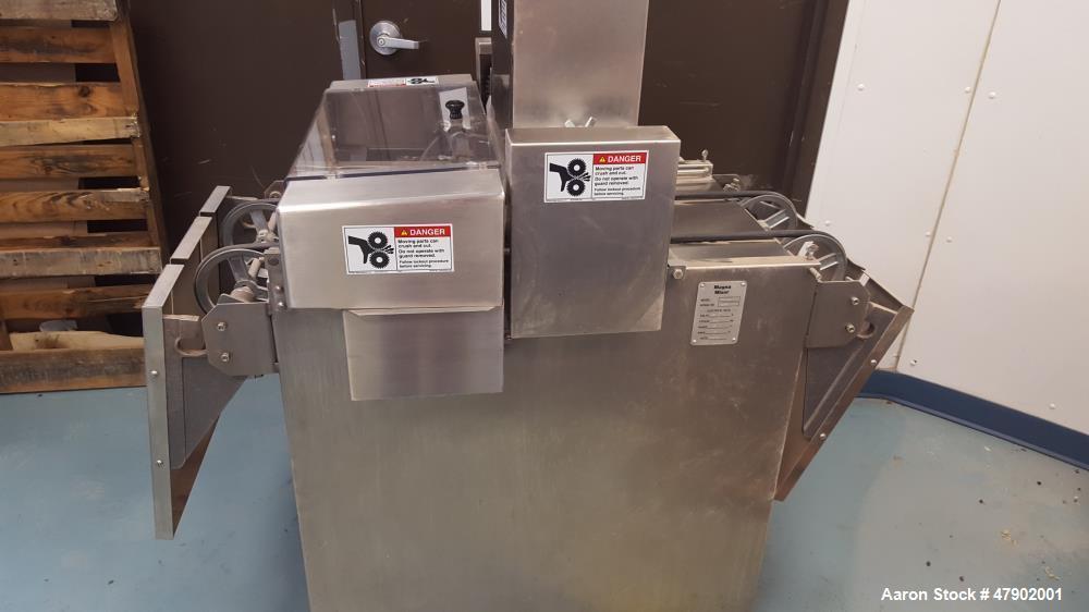 "Used- Magna Mixer Co. Handy ""V"" Cookie Depositer, Model 17V-SX3-G. 1750 dozen wire-cut uniform cookies per hour. (2) variabl..."