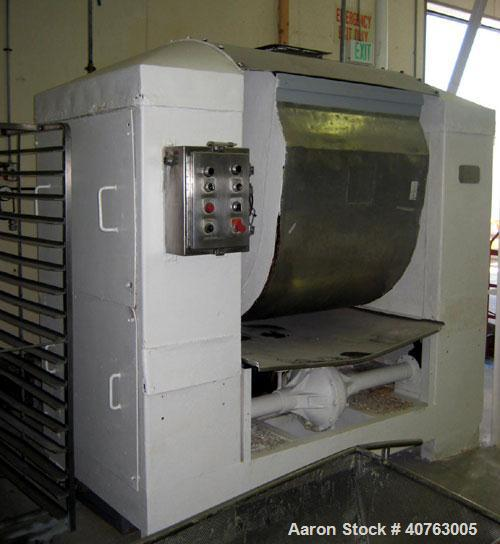 Used-Peerless block dough mixer.