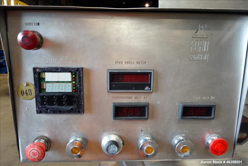 Used- J.C. Ford Tortilla Process Line
