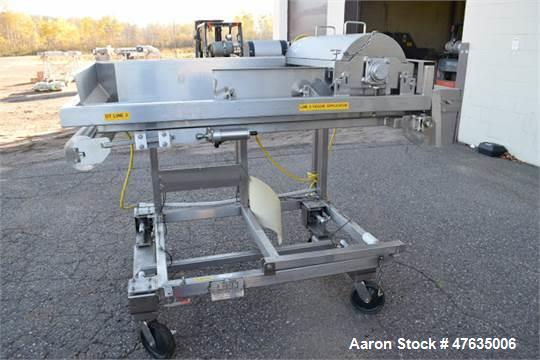 Used-Loos Water Fall Applicator, S/N 4197-1002A, Mounted on Load Cells (NOTE: Missing Belt) (Tag #1151504)