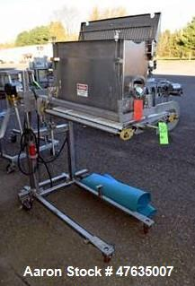 Used-Stainless steel Duster with Conveyor and Onboard GTR Drive (Tag #1151505)