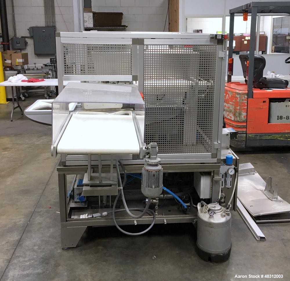 Used-Koch Tray Sealer, Model 800VG. Machine, max tray size: 15.7? X 11.8? X 4.7?  Serial # FP6376.  Built 2005