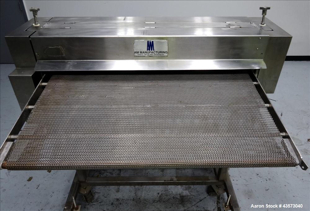 "Used- 40"" Manufacturing Model Dock-It Pizza Crust Docker"
