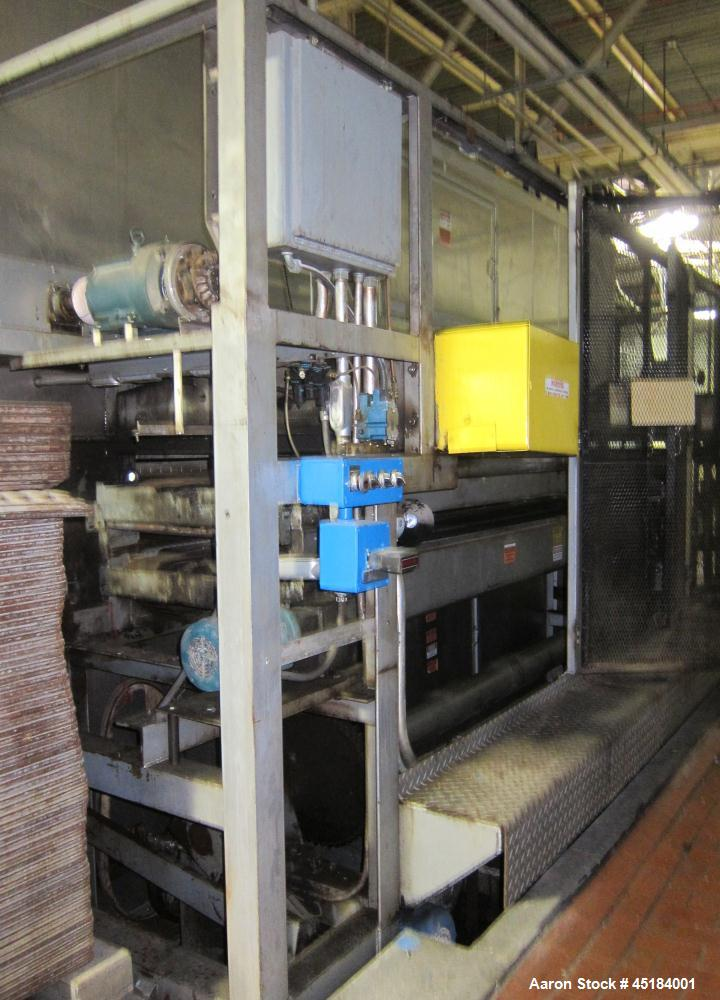 Used- APV Rack Proofer, Model 993, S/N 1853-05-003 Proofer with S/N 1853-06-003 A/C (air conditioner). 3/60/208V/32KVA. This...