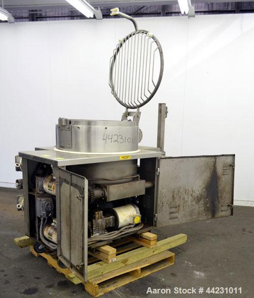 Used- Stainless Steel APV Baker Cream Hopper Feeder