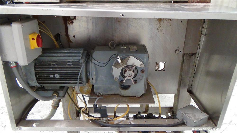 Used- APV Stainless Steel Dough Divider, Model XJ-G