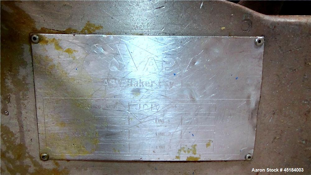 Used-APV Stainless Steel Dough Divider, Model XJ-G