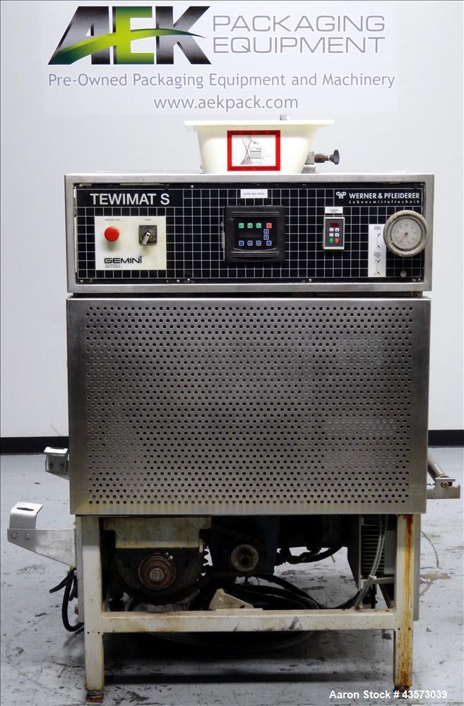 Used- Gemini Tewimats Dough Divider, Model TW-S-BB