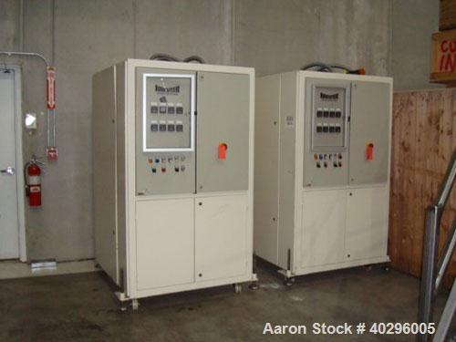 Used-Hosokawa Bepex temperer, model TMK 500. 2000 kg/hour, 460V, 60 hz, 3 phase. Manufactured 1999. Last used for tempering ...