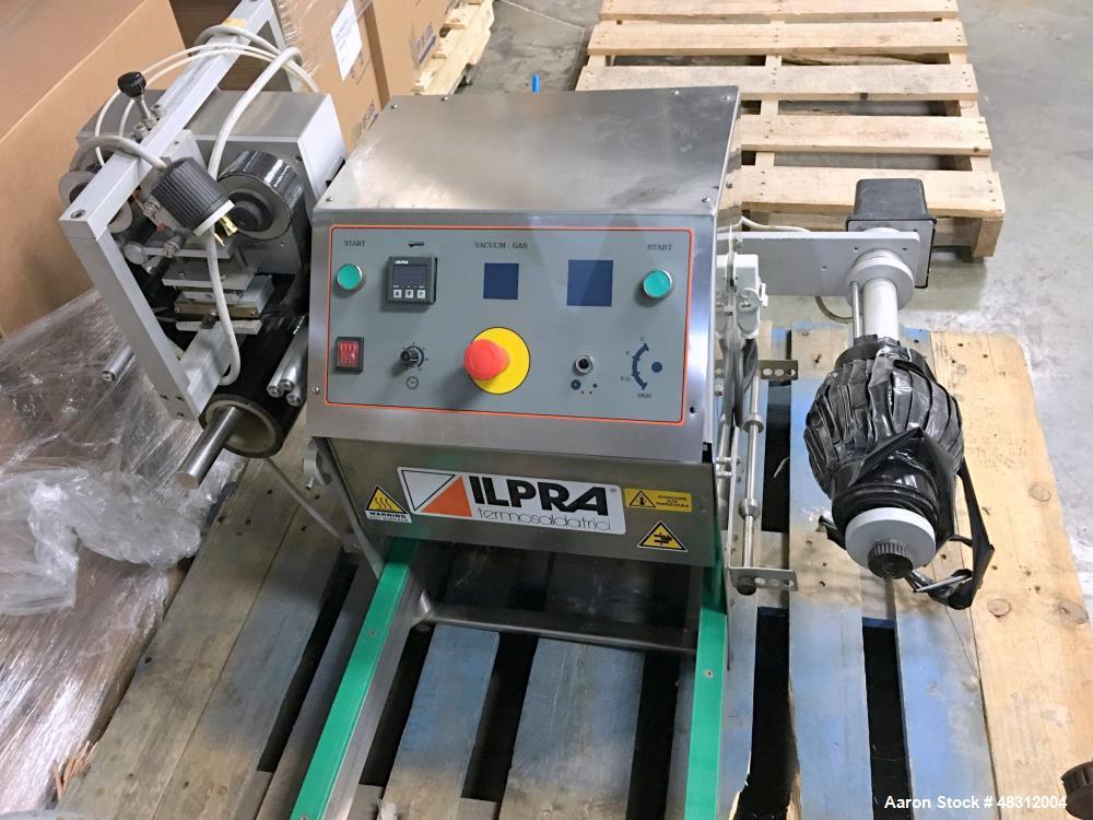 Used-Koch/Ilpra Table-Top Vacuum Tray Sealer, Model FP Basic.  Serial # FP 5215
