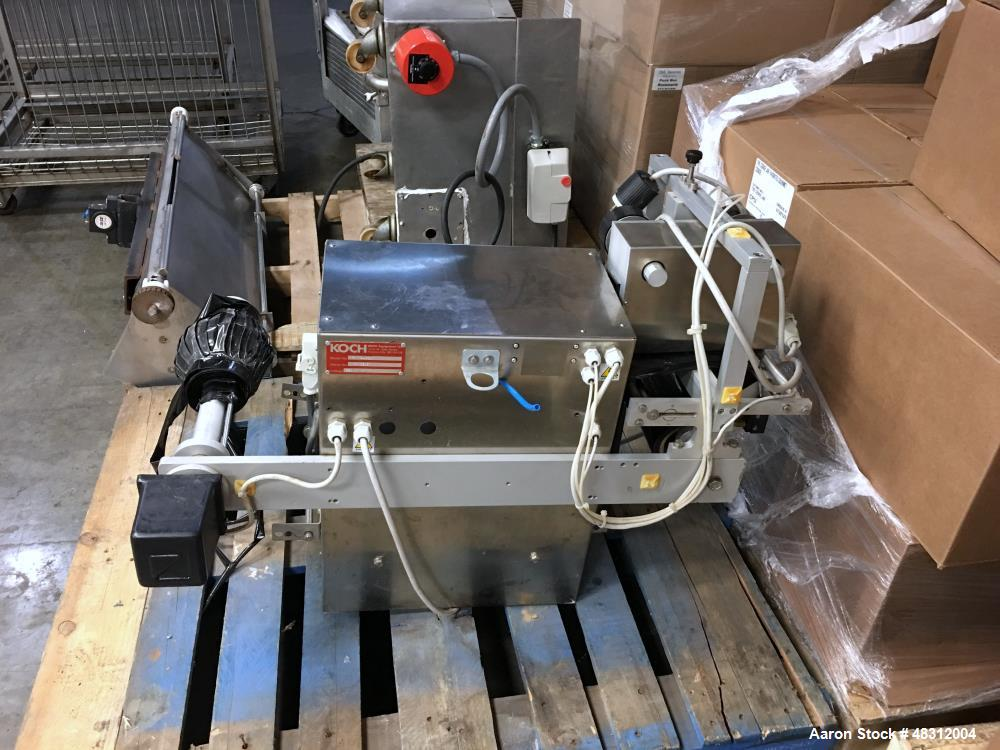 Used-Koch/Ilpra Table-Top Vacuum Tray Sealer, Model FP Basic.  Serial # FP 5215