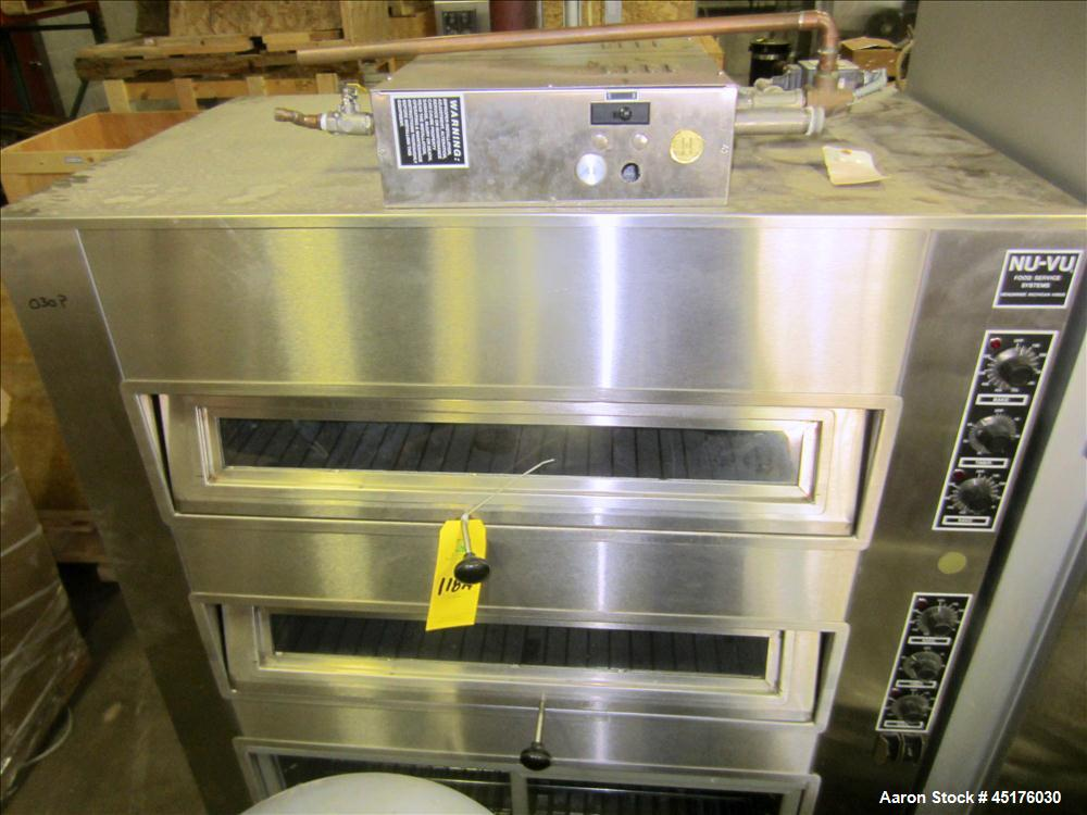 Used- Nu-Vu Electric Deck Oven, Model MDO-2/4/Pro-6