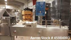 Used- Simple Simon Pie Machine, Model 4700. Capable of producing pies ranging from 25 -1000 grams in volume with any type of...
