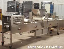 "Used- Simple Simon Pie Line, Model 4700. Can manufacture 3,000 - 4,500 pies per hour. 15'8"" long x 3' wide x 6' high. Also i..."