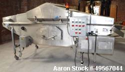 "Used- Arcall Coating Machine, Model 660 (40), Stainless Steel. Top & bottom coating, 45"" wide x 120"" long stainless steel me..."