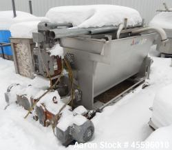 Used-APV Dual Auger Ingredient Feed Pump. Has (2) 10 hp auger motors and (1) 25 hp main motor. Is of stainless steel constru...