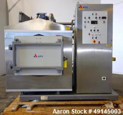 Used- APV Vacuum Cooler, Model Vacuum Cooler, 304 Stainless Steel.