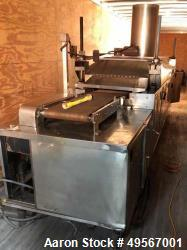 "Used- Casa Herrera Tortilla Line Consisting Of: (1) Casa Herrera Mach 4 (3) pass gas oven, 1,200,000 btu/hr. Approximate 18""..."