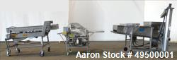 "Used- Stein 30"" Wide  Stainless Steel Breading Line."