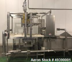 Used- Viking Hydra-Form Mozzarella Block Molder/Chiller System. With Allen Bradley panel view plus 1000 controls and 5/30 PL...