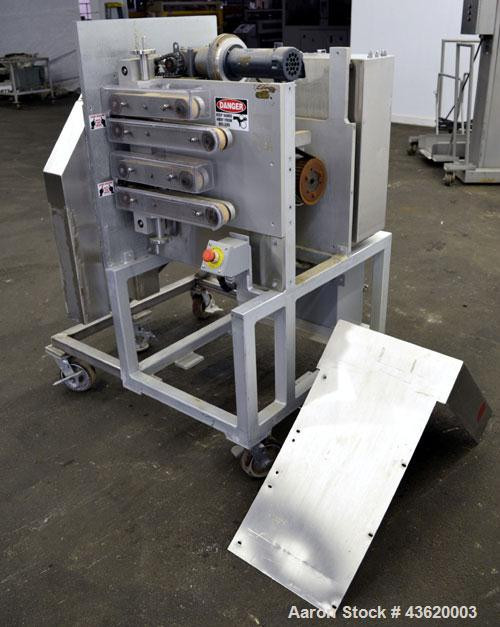 "Used- Custom Made Fly Kife Cutter/Puller Machine. Consists of (2) Sets of over-under design belts, (2) set of (1) 1"" wide x ..."