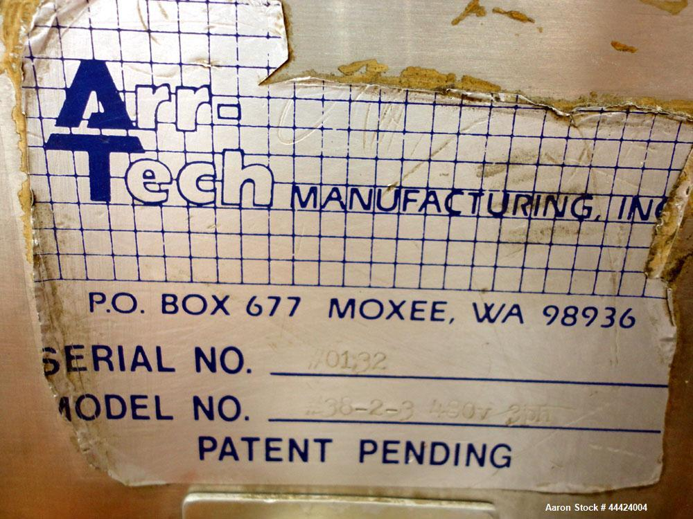 Used- Arr-Tech Manufacturing Counter/Stacker, Model 38-2-3