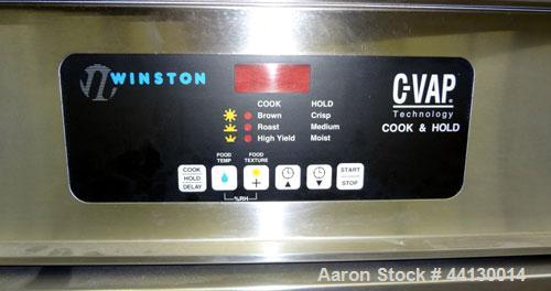 Used- Winston Products C-Vap Cook And Hold Cabinet, Model CA7507GR, 304 Stainless Steel.