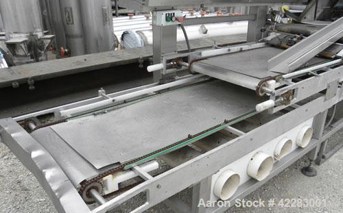 Used- C.I.M. International Ciabatta Multiline 90014141 Line, model 56912106. Produces ciabatta sandwich bread. Line is appro...