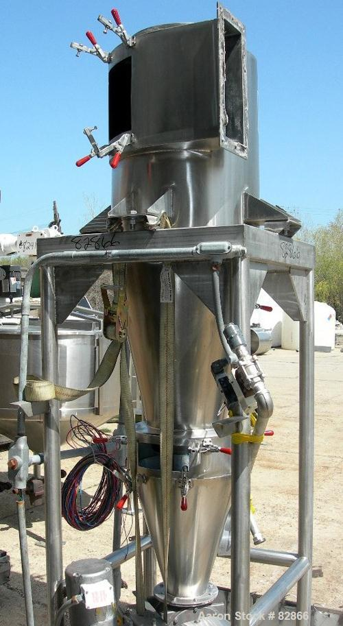 USED: Reyco Systems Water Vac 1 water removal system for the food processing industry, 304 stainless steel. Designed for rem...