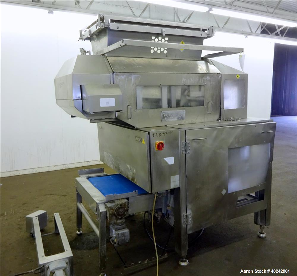 Used- Rheon V4 Pizza Dough Sheeting Line.