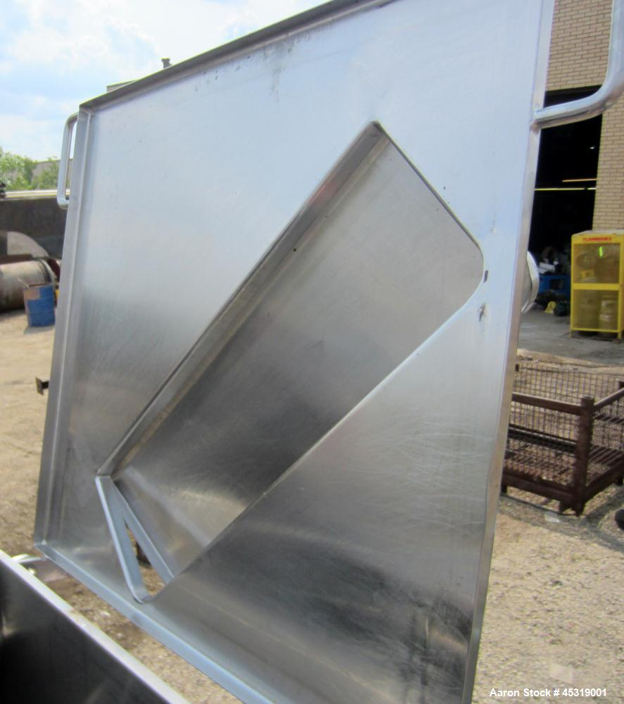 Used- Stainless Steel Rietz Bepex Creamer, Model RC-70 L.H.