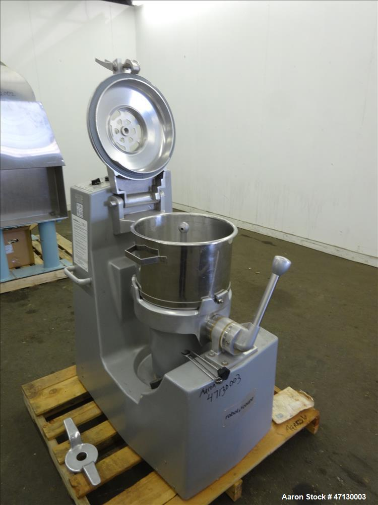 Used- Robot Coupe Food Processor, Model R25TP, Approximate 25 Quart.