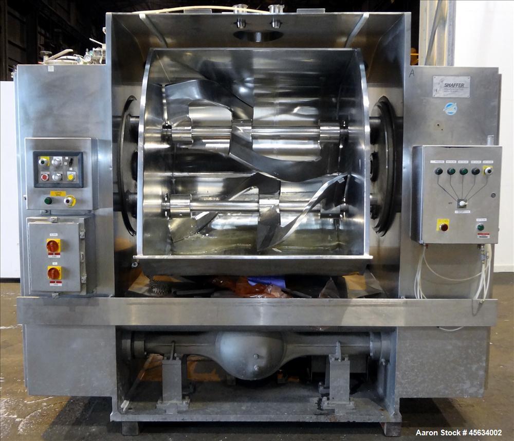 Used- Shaffer Bundy Double Arm Dough Mixer, Model 200DA