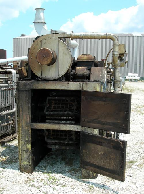 "USED- Simon Vicars Gas Fired Wafer Baking Oven. Approximately 45 chain driven plates 11 5/8"" wide x 18 1/2"" long (292 mm x 4..."