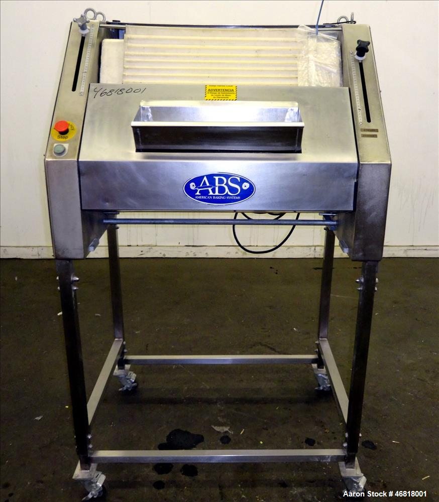 Used- Sinmag Baguette Moulder, Model SM380S, Stainless Steel