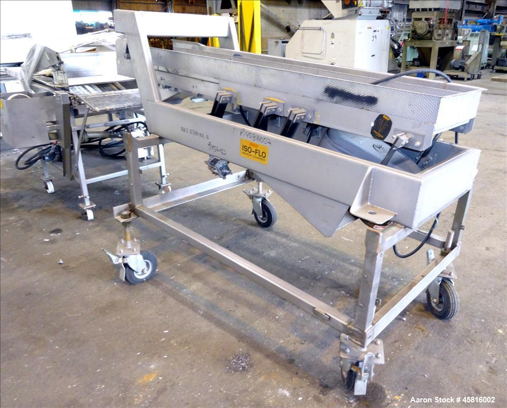 "Used- Stein 24"" Wide Breading Line, Stainless Steel. Consisting of: (1) Stein model XL24JH breading machine. 24"" wide x 8' l..."
