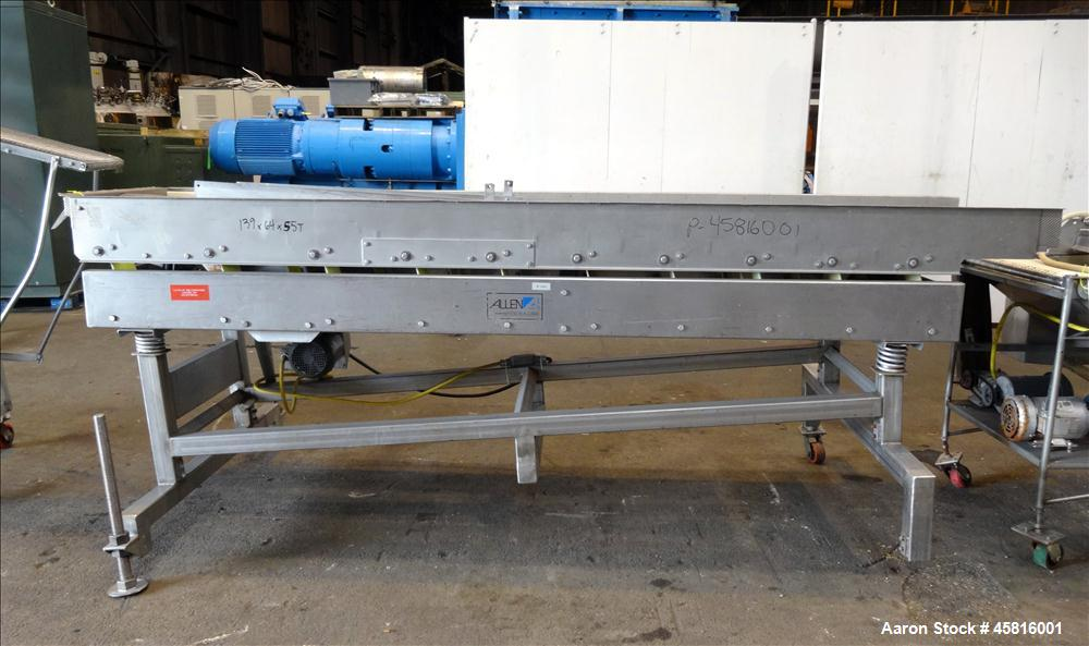 "Used- Stein 30"" Wide Stainless Steel Breading Line"