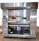 Used- Baxter Revolving Tray Oven, Model OV850G-12A.  Natural gas fired, 150,000 BTU.  (4) Approximately 58