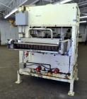 Used- National Equipment Company Enrober.  (1) 34