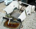 USED- Simon Vicars Gas Fired Wafer Baking Oven. Approximately 45 chain driven plates 11 5/8