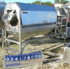 Used- Vanmark Equipment Peeler/Scrubber/Washer, 304 stainless steel. (6) approximately 5